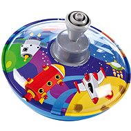 Lena Musical Spinning Top - Space CZ - Children's game