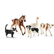Schleich 42386 Assorted Farm World animals set 5pcs - Figurine