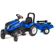 Tractor with Flatbed - Blue - Balance Bike/Ride-on