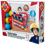 Fireman Sam Inflatable Car with 20 Balls - Toy Vehicle