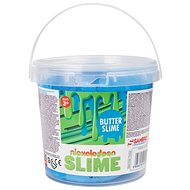 Nickelodeon Slimming in a 300g bucket - blue - Clay