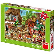 Dino Little Mole in the Kitchen 100 XL New Puzzle - Puzzle