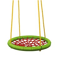 Woody Rocking Ring (diameter: 83cm) - Green-red - Swing
