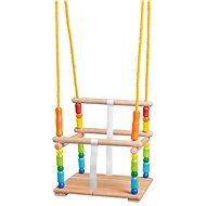 Woody Swing with Rails, Coloured - Swing