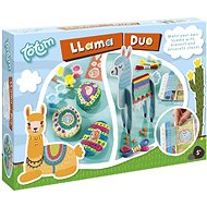 Lama duo 2-in-1 - Stone Decoration and Blanket Weaving