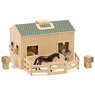 Melissa-Doug Stable with Horses - Building Kit