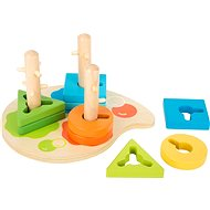 Small foot Peg and Blocks - Building Kit