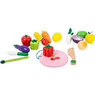 Small foot Magnetic Set of Fruits and Vegetables - Building Kit