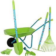Small foot Large Garden Set, with Wheelbarrow - Outdoor Game