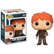 Funko Pop Movies: Harry Potter - Ron Weasley w/Scabbers
