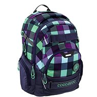 Coocazoo JobJobber2 Green Purple District - School Backpack