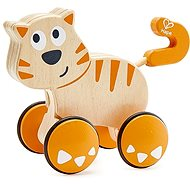 Hape Cat - Push and Go - Toddler Toy