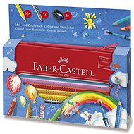 Faber-Castell Grip 2001, 16 colours - Coloured Pencils