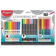 Maped Colouring Set, 33pcs