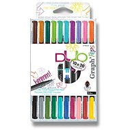 Maped Graph´Peps Duo, 10/24 colours - Liner