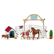 Schleich Horses, Hannah with Ruby, the Foal - Figures