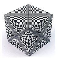 Geobender Cube - Abstract - Brain Teaser