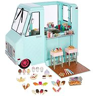 Our Generation Sweet Stop Ice Cream Truck - Doll Accessories