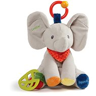 Baby GUND Flappy the Elephant Activity Toy for Educational Play Stuffed Plush, 22cm