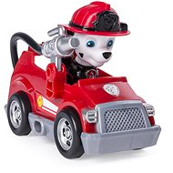 Paw Patrol Vehicle with Marschall, the Ultimate Rescuer Figurine - Set