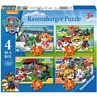 Ravensburger 069361 Paw Patrol 4 in 1 - Puzzle