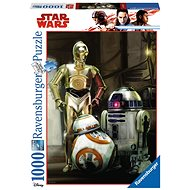 Ravensburger 197798 Disney Star Wars: C-3PO, R2-D2 & BB-8 - Puzzle