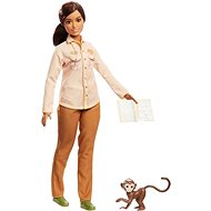 Barbie Occupations National Geographic Wildlife Conservationist (with Monkey)
