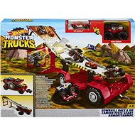 Hot Wheels Monster Trucks Downhill Race & Go - Game set