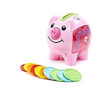 Fisher-Price Piggy Bank CZ - Interactive Toy