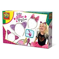 SES Fashion Glitter Bows and Ears - Creative Kit