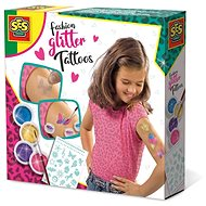 SES Fashion Tattoo with Glitter