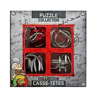 Set of 4 Metal Extreme Puzzles