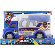Police Car with Accessories, Battery-operated - Game set