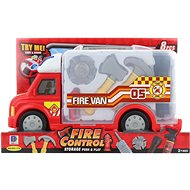 Fire Engine, Battery-operated, with Accessories - Game set