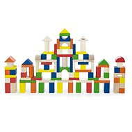 Wooden Kit of 100 Blocks - Wooden Toy