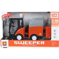 Battery-operated Car Sweeper - Toy Vehicle