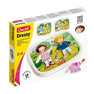 Quercetti Dressy Baby Magnetic Dress-up Puzzle - Magnetic Jigsaw Puzzle - Creative Kit