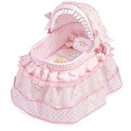 DeCuevas Toys Cot for dolls with pillow and embroidered lace Maria - Doll Accessory