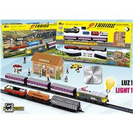 Pequetren 2 Trains: Passengers and Goods - Two Trains: Passengers and Freight - Train Set