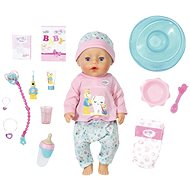 BABY born Bath Soft Touch Baby girl with Toothbrush Accessories - Doll