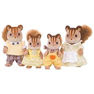 Sylvanian Families Walnut Squirrel Family - Figures