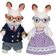 Sylvanian Families Chocolate Rabbit Grandparents - Figures
