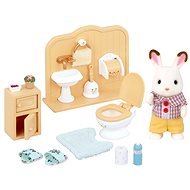 Sylvanian Families Chocolate Rabbit Brother Set - Game Set