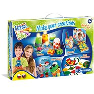 Clementoni Big 4-in-1 Creative Set - Creative Kit