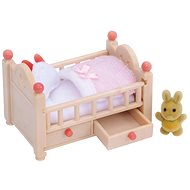 Sylvanian Families Baby Crib - Game Set