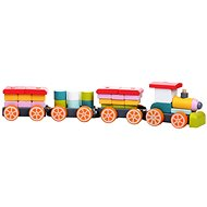 Cubika 13319 Wooden Train - Wooden Toy