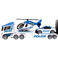 Teamsterz Police Helicopter Transport with Sounds and Lights - Toy Car