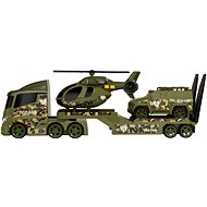 Teamsterz Military Helicopter Transportation with Sounds and Lights - Toy Car