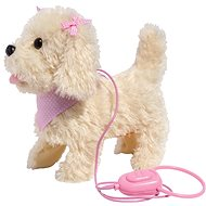 Addo Puppy taking a Walk, Cream - Plush Toy