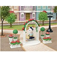 Sylvanian Families Town - Flower Decoration with Gate